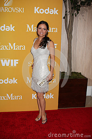 Danica McKellar arrives at the City of Hope s Music And Entertainment Industry Group Honors Bob Pittman Event Editorial Stock Photo