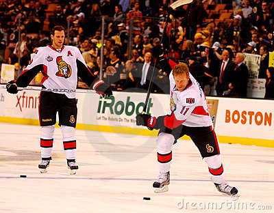 Daniel Alfredsson Ottawa Senators Editorial Stock Photo