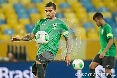 Daniel Alves Editorial Image