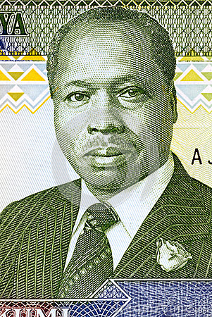Daniel arap Moi Editorial Photo