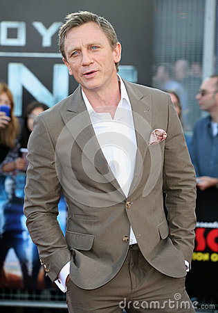 Daniel Craig Editorial Photography