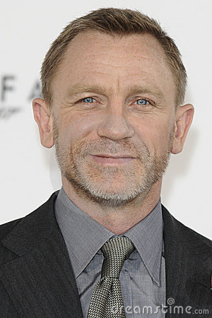 Daniel Craig, James Bond Editorial Stock Image