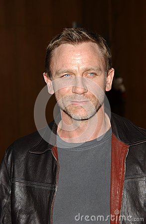 Daniel Craig Editorial Photo