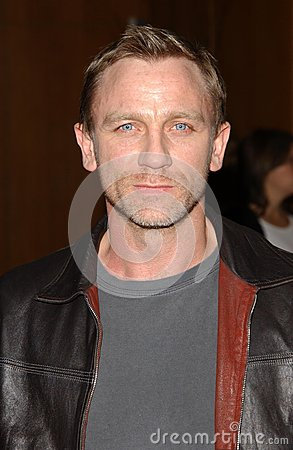 Daniel Craig Editorial Stock Photo