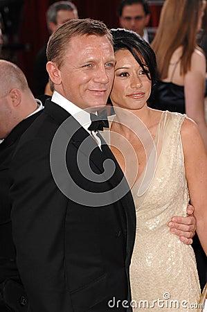 Daniel Craig,Satsuki Mitchell Editorial Image