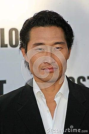 Daniel Dae Kim Editorial Stock Image