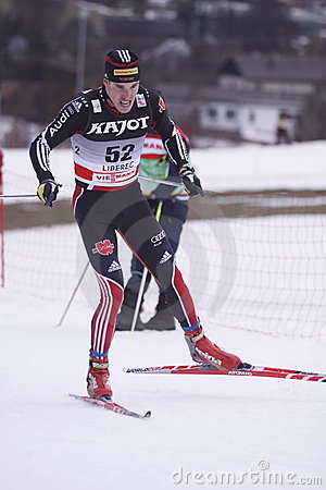 Daniel Heun - german cross country skier Editorial Image