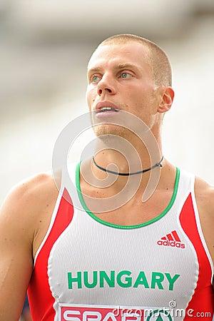 Daniel Kiss of Hungary Editorial Stock Photo