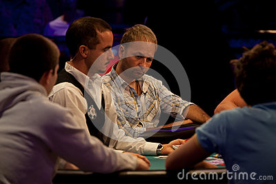 Daniel Negreanu at World Series of Poker Editorial Photography