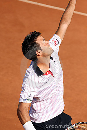 DANIELE BRACCIALI, ATP TENNIS PLAYER Editorial Stock Photo