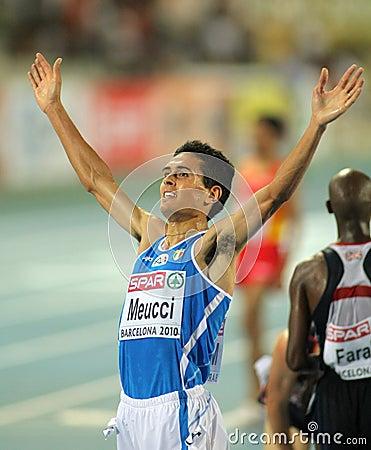 Daniele Meucci of Italy Editorial Photo