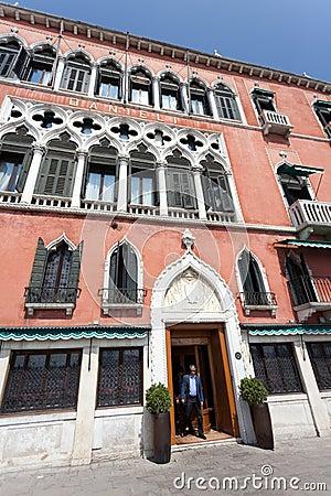 Danieli Excelsior Hotel Venezia Editorial Stock Image