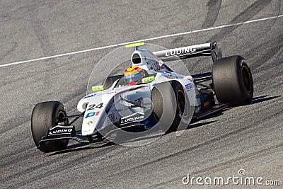 Daniil Move of P1 Motorsport team Editorial Photo