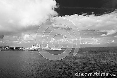 Danish harbour.
