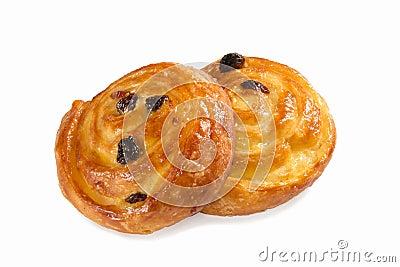 Danish pastry isolated