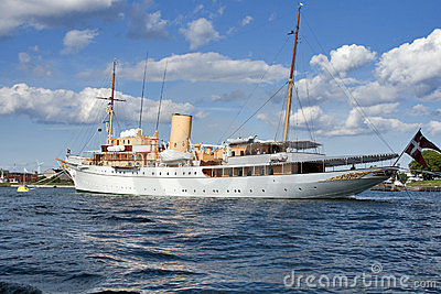 Danish Queen s Naval Yacht Editorial Photography