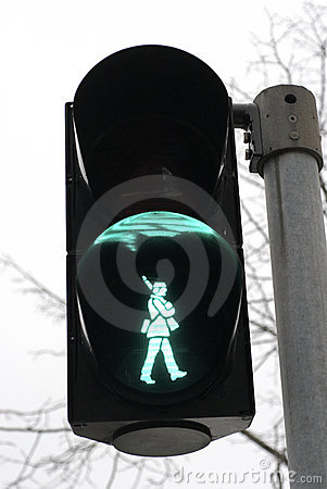 Danish soldier walk signal