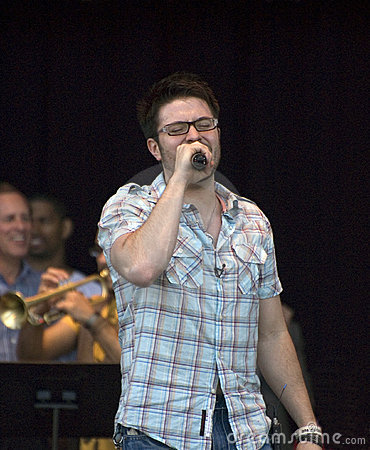 Danny Gokey, American Idol, Performing Editorial Image