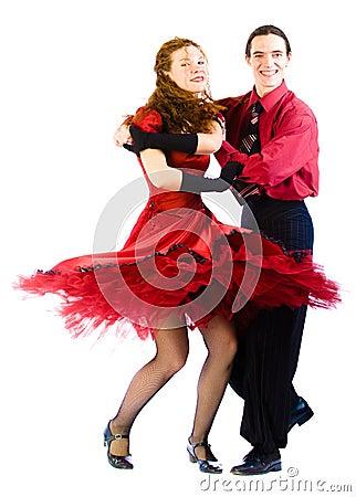 Dansers Boogie -boogie-voogie
