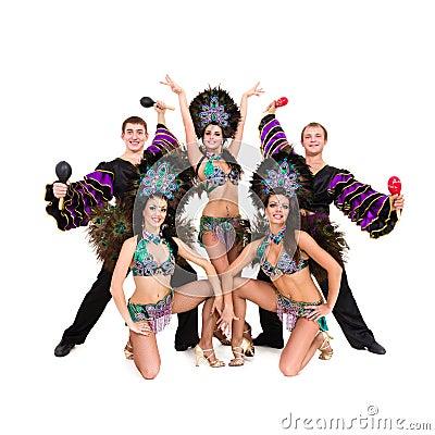 reizen dansers kostuum