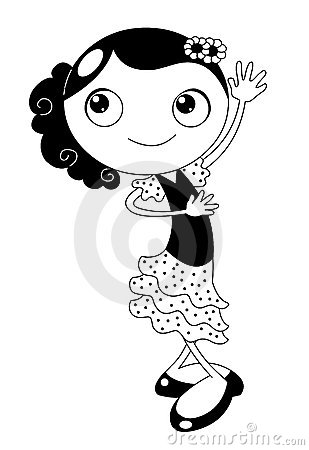 Danseur de flamenco