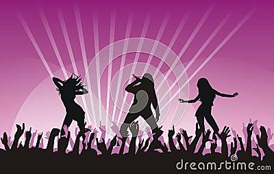 Dansing girls