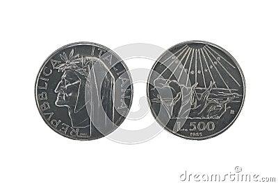 Dante silver coins 2