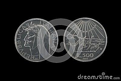 Dante silver coins