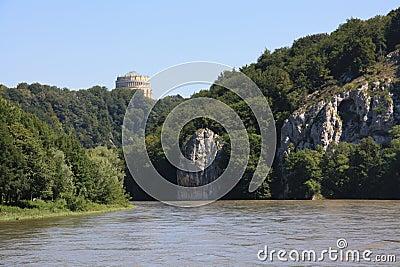 Danube in Kelheim