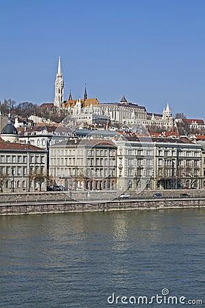 Danube River Bank in Budapest