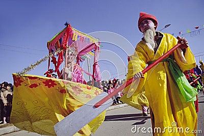 Danza del barco Foto de archivo editorial