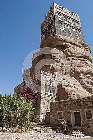 Dar Al Hajar (Rock Palace), Sanaa Yemen
