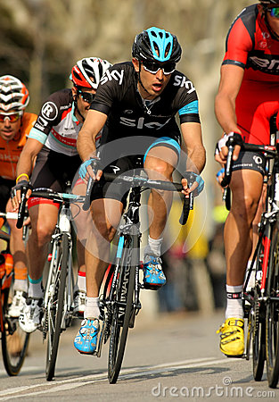 Dario Cataldo of Sky Procycling Editorial Photography