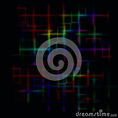 Dark abstract maze background