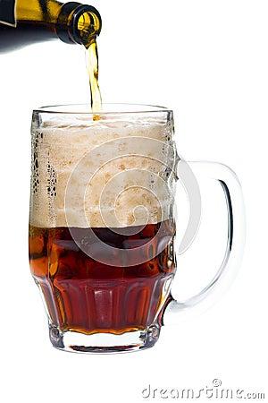 Free Dark Beer Royalty Free Stock Photo - 10359595