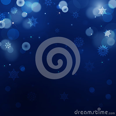 Free Dark Blue Blur Background For Christmas  Royalty Free Stock Images - 62674319