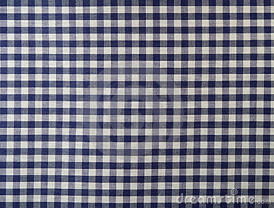 Dark blue checkered fabric