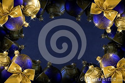 Dark Blue Christmas Royalty Free Stock Images - Image: 28265239