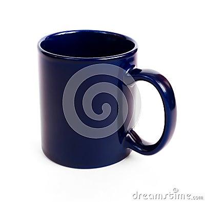Free Dark Blue Coffee Mug Royalty Free Stock Images - 11125389