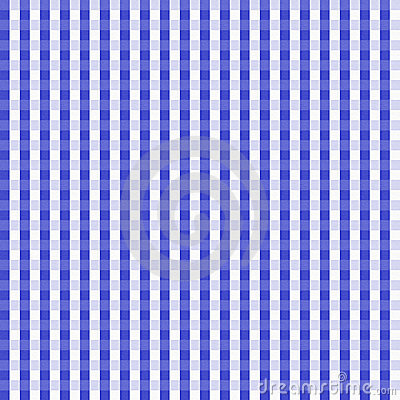 Dark Blue Gingham Seamless Background