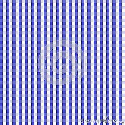 Dark Blue Gingham Seamless Background