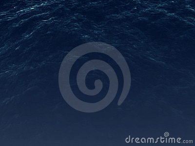 Dark blue ocean surface with soft waves