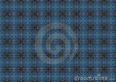 Dark Blue Weave Pattern