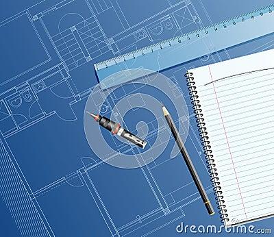 Dark blueprint