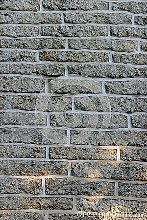 Dark Brick Wall For Background Texture