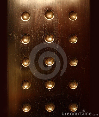 Dark bronzed metal surface background