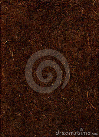 Dark Brown Texture Paper