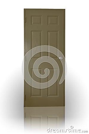 Free Dark Brown Wood Door Royalty Free Stock Images - 16319139