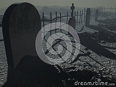 Dark Cemetary