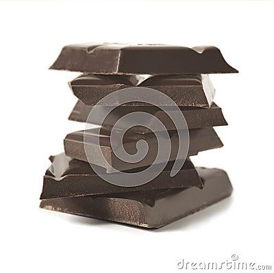Free Dark Chocolate Stock Photography - 8415922
